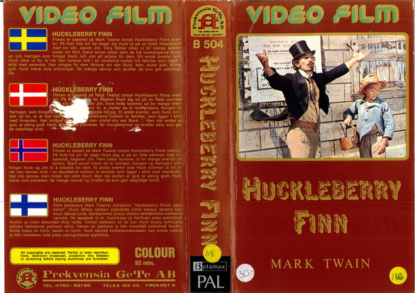 B504 HUCKELBERRY FINN - BETA