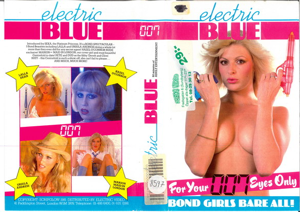 ELECTRIC BLUE 007 (VHS)