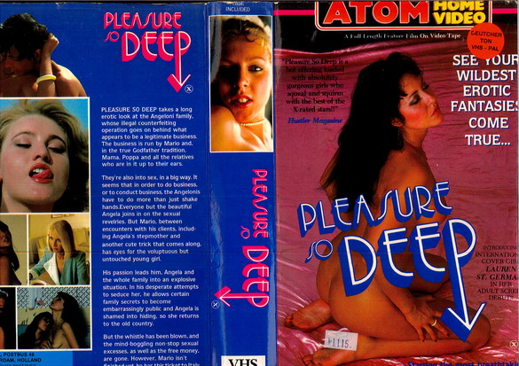 PLASURE SO DEEP (VHS)