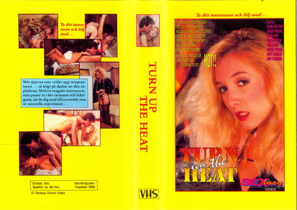 TURN UP THE HEAT (VHS)