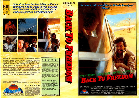 BACK TO FREEDOM (vhs)