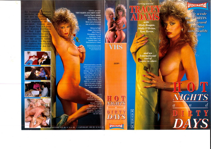 HOT NIGHTS AND DIRTY DAYS (VHS)