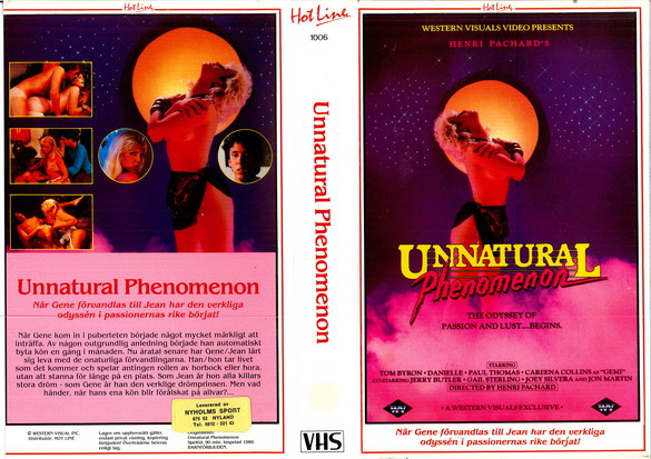 1006 UNNATURAL PHENEMENON (VHS)