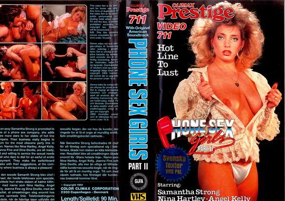 PHONE SEX GIRLS PART 2 (VHS)