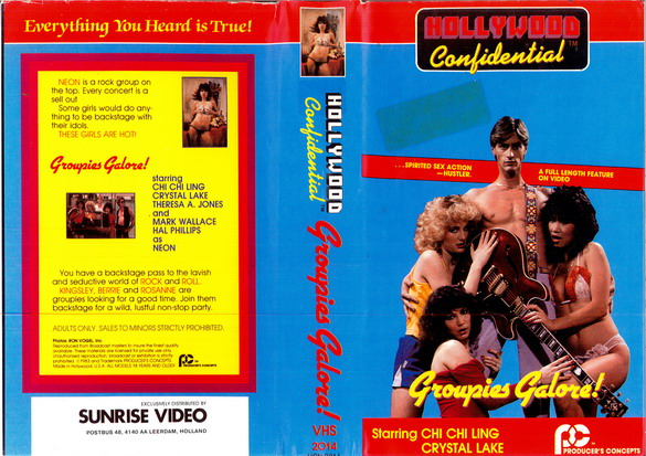 GROUPIES GALORE ! (VHS)