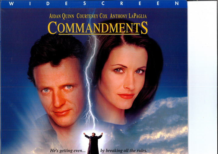 COMMANDMENTS (LASER-DISC)