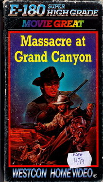 2070 MASSACRE AT GRAND CANYON (VHS)