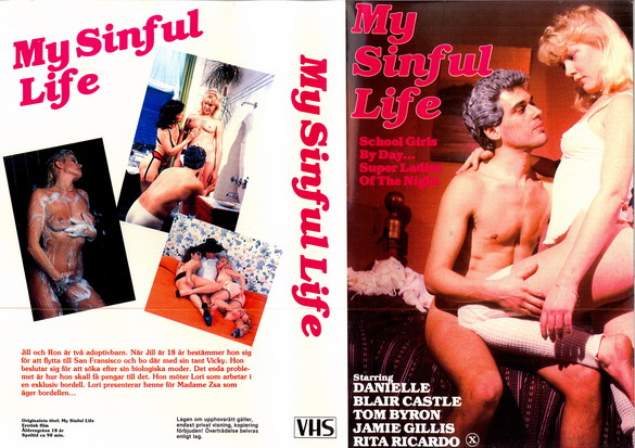 MY SINFUL LIFE (vhs)