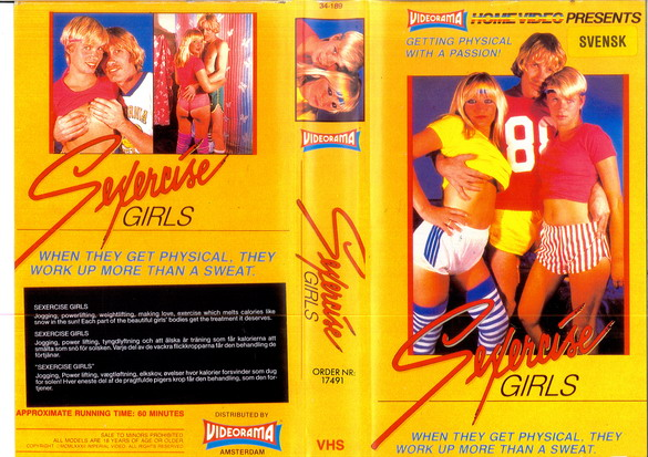 SEXERCISE GIRLS (vhs)