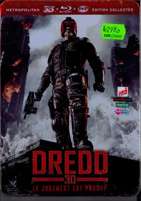 DREDD 3D STEELBOX (Blu-Ray)