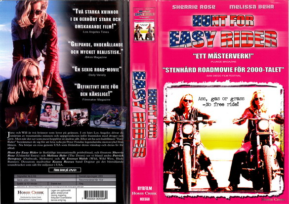 HUNT FOR EASY RIDER (VHS)