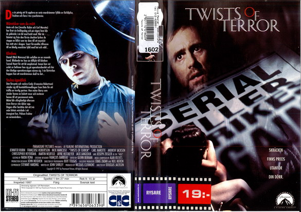 TWISTS OF TERROR (VHS) TITTKOPIA