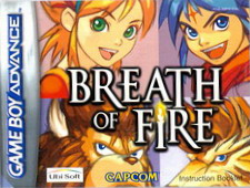BREATH OF FIRE - MANUAL (AGB-ABFX-EUU)