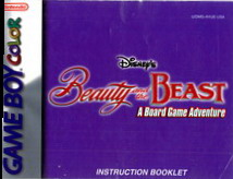 BEAUTY AND THE BEAST - MANUAL (U/DMG-AVUE-USA)