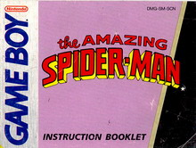 AMAZING SPIDERMAN - MANUAL (DMG-SM-SCN)