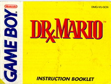 DR MARIO - MANUAL (DMG-VU-SCN)