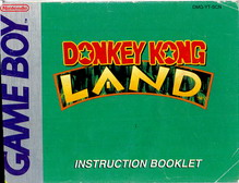 DONKEY KONG LAND - MANUAL (DMG-YT-SCN)
