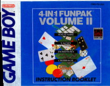 4-IN-1 FUNPAK VOL 2 - MANUAL (DMG-F9-USA)