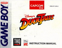DUCK TALES - MANUAL (DMG-DT-USA-2)