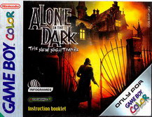 ALONE IN THE DARK:THE NEW NIGHTMARE - MANUAL (CGB-BIDP-UKV)