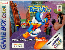 DONALD DUCK:QUACK ATTACK - MANUAL (CGB-BQAP-EUR)