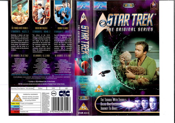 STAR TREK TOS VOL 2,5 (VHS)