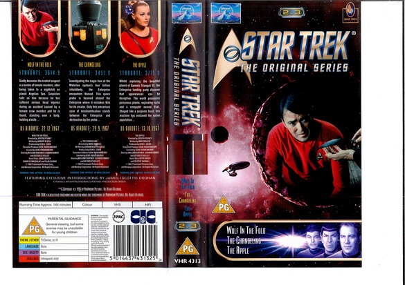 STAR TREK TOS VOL 2,3 (VHS)