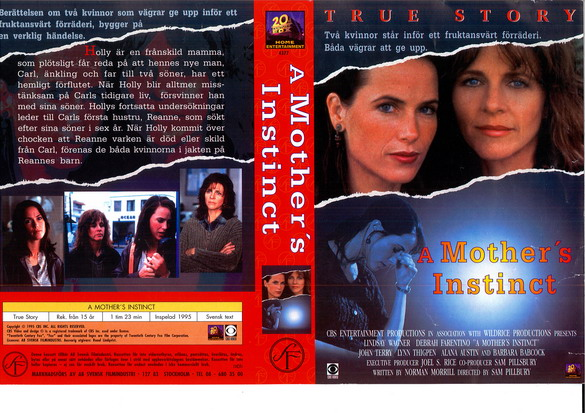 A MOTHER'S INSTINCT (VHS)