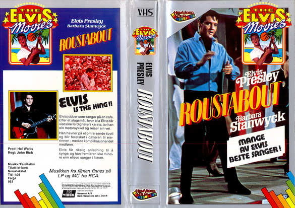 ROUSTABOUT (VHS)