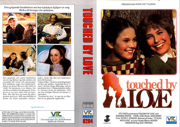 8284 TOUCHED BY LOVE (VHS)