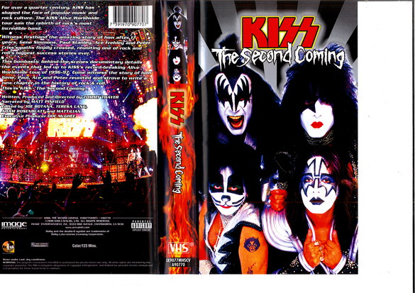 KISS: THE SECOND COMING (VHS)