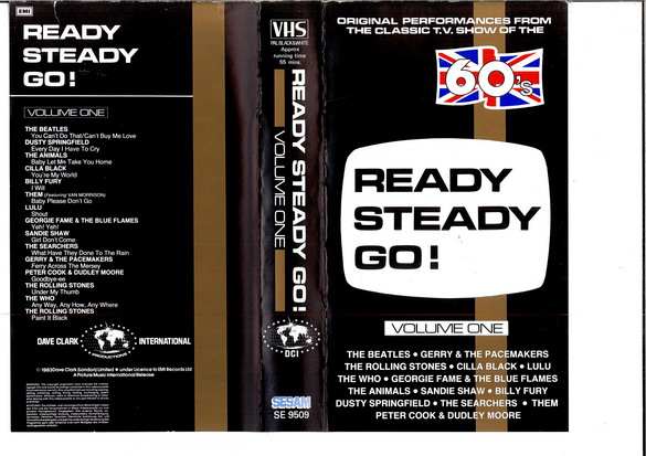 READY STEADY GO: VOL 1 (VHS)