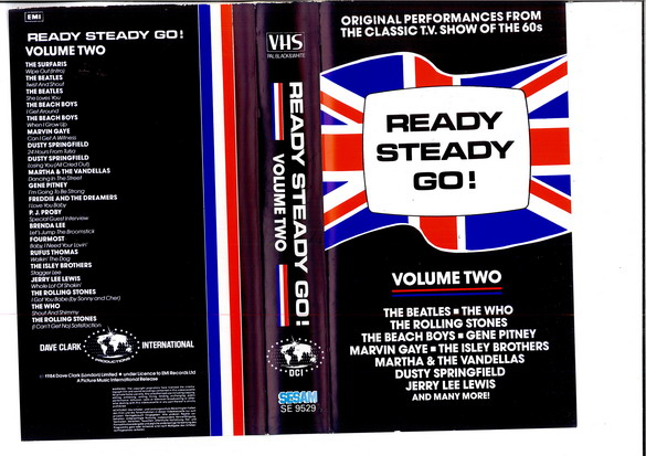 READY STEADY GO: VOL 2 (VHS)