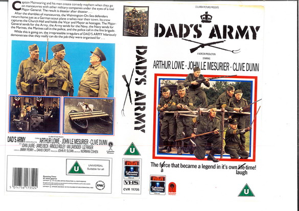 DAD'S ARMY (VHS) UK