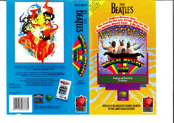 BEATLES: MAGICAL MYSTERY TOUR (VHS)