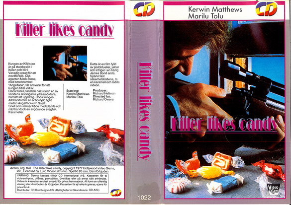 1022 KILLER LIKES CANDY (VHS)