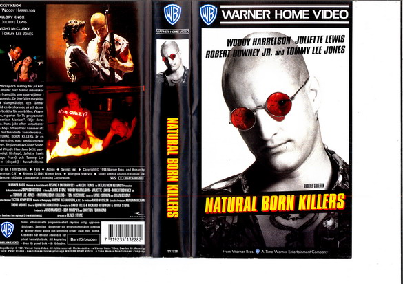 NATURAL BORN KIILLERS (VHS)