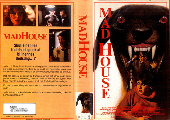 MADHOUSE (VHS)