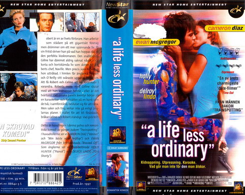 A LIFE LESS ORDINARY (VHS)