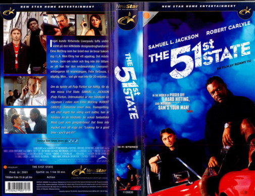 51 ST STATE (VHS)