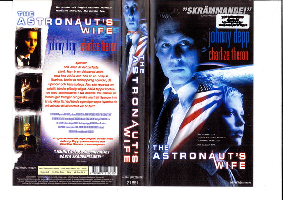 ASTRONAUT'S WIFE (VHS)