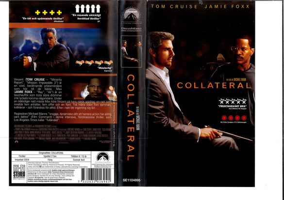 COLLETERAL  (VHS)