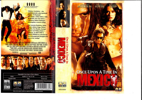 ONCE UPON A TIME IN MEXICO (VHS)