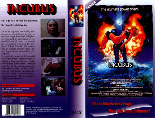 INCUBUS (VHS)