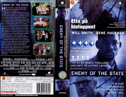 ENEMY OF THE STATE (VHS)