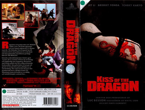 KISS OF THE DRAGON (VHS)