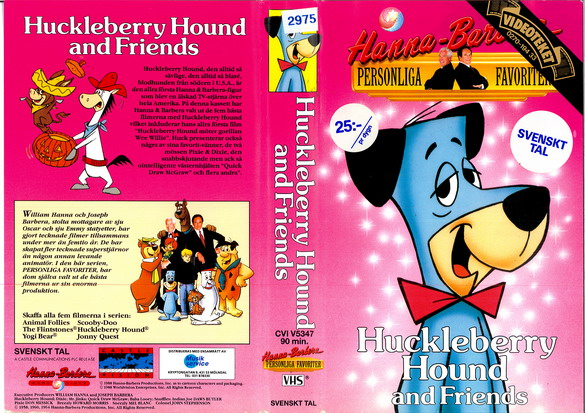 CVI 5347 HUCKLEBERRY HOUND AND FRIENDS (vhs)