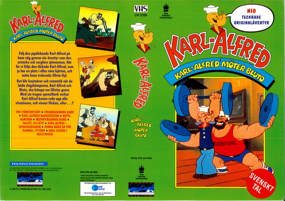 KARL-ALFRED - KARL-ALFRED MÖTER BLUTO (VHS)