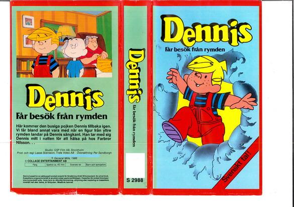 comic figur dennis