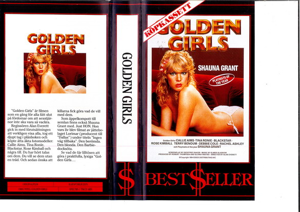 GOLDEN GIRLS (VHS)